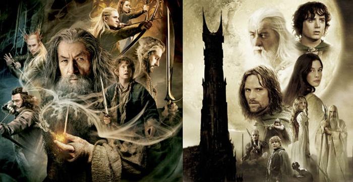 hobbit anillos