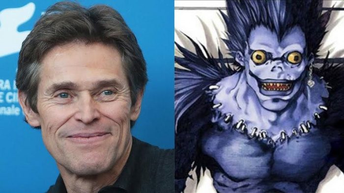 Willem Dafoe Death Note