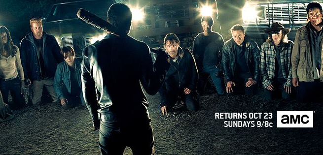 the walking dead - temporada 7 - banner