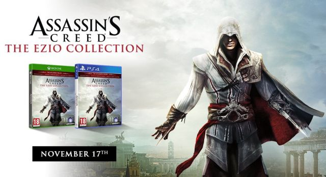 Ubisoft Anuncia Assassin S Creed The Ezio Collection Para Ps4 Y