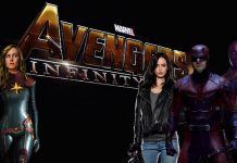Avengers: Infinity War - Captain Marvel - Jessica jones - Daredevil - Luke Cage