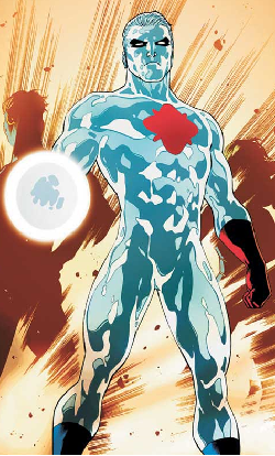 Captain Atom CAFUs art