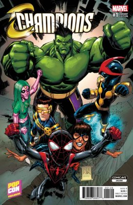 Champions ComicCave Variant