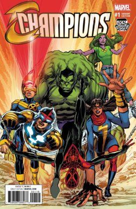 Champions Comicspro Variant