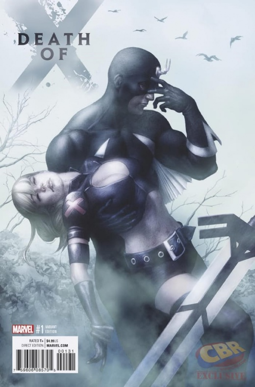 Death of X Variant Cover
