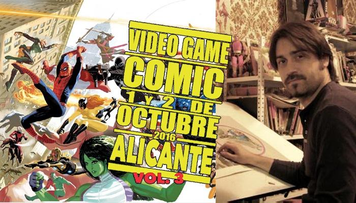 Daniel Acuña - VGCómic 2016