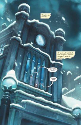 Gotham Academy Second Semester Página interior (1)