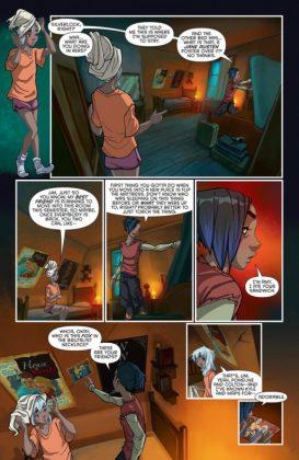 Gotham Academy Second Semester Página interior (4)