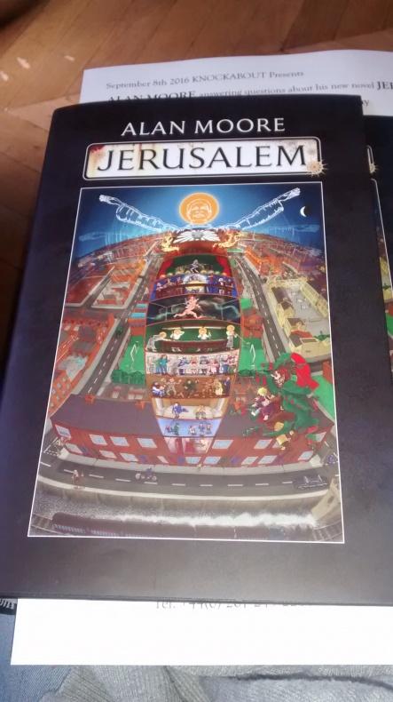 Jerusalem Alan Moore Planeta Cómic