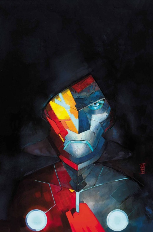 Infamous Iron Man portada
