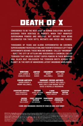 Interior 1 Death of X