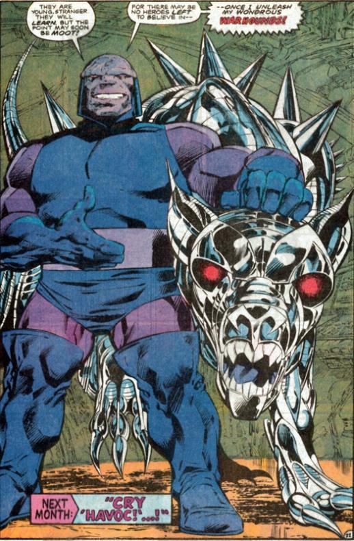 Darkseid, el gran villano de DC