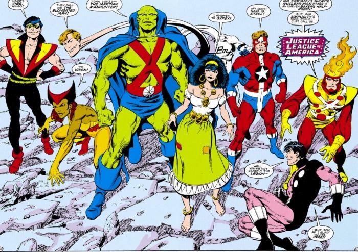 La Liga de la Justicia de la época