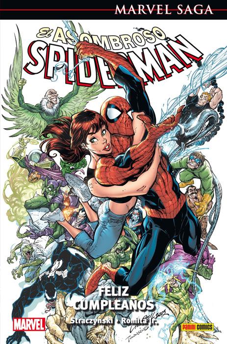 Marvel Saga Spiderman 4 Portada