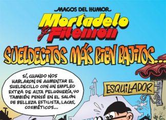 Mortadelo y Filemón: sueldecitos más bien bajitos