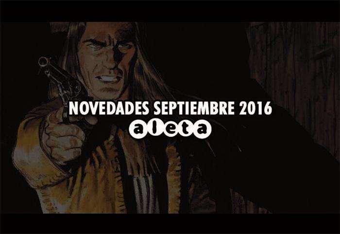 Novedades Aleta septiembre 2016