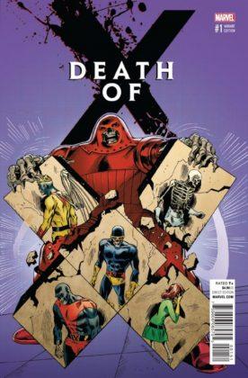 Portada alternativa 1 Death of X