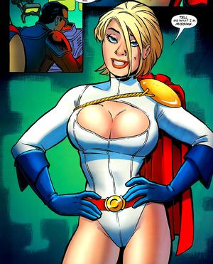 La contundente Power Girl de Amanda Conner
