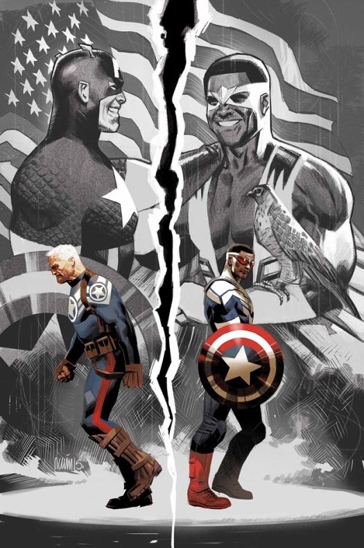 Sam Wilson Captain America 1 Daniel Acuña
