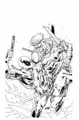 Solo 1 Liefeld Sketch Variant