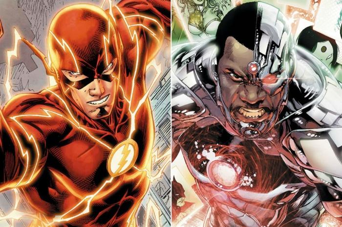 The Flash y Cyborg