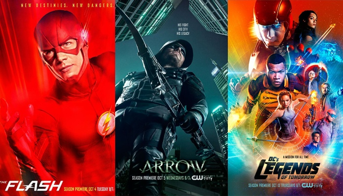 The Flash T3 - Arrow T5 - Legends of Tomorrow T2
