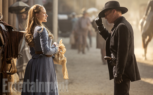 Westworld - Ewan Rachel Wood - Ed Harris