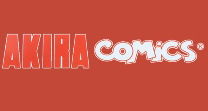 akira comics logo