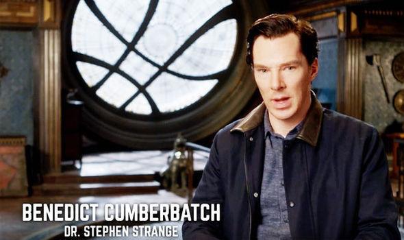 Cumberbatch Doctor Strange