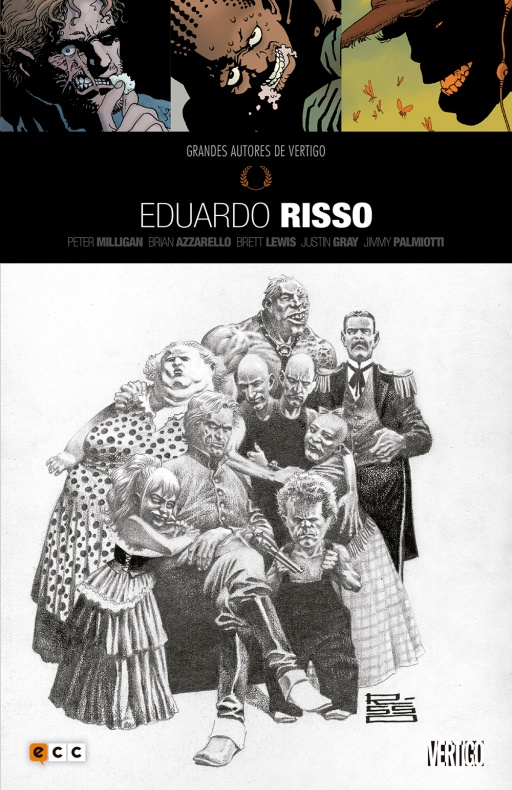 grandes autores vertigo Eduardo Risso