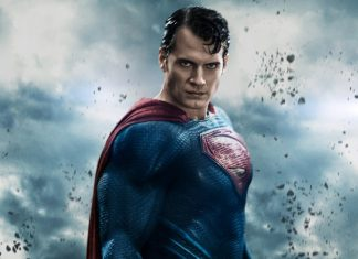 Superman del universo DC Justice League