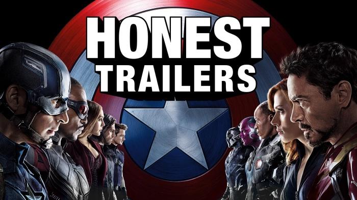 Capitán América Civil War tráiler honesto
