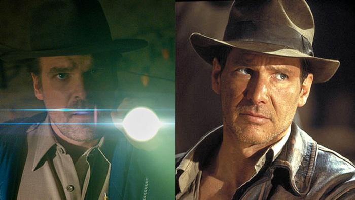 Indiana Jones y Jim Hopper