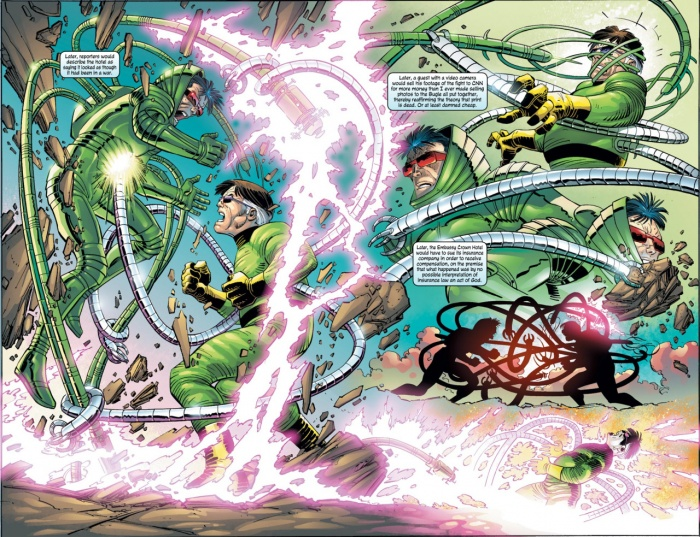 MS Spiderman Octupus vs Carlyle