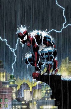 Marvel Saga Spiderman lluvia