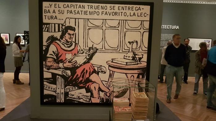 Exposición 'El Capitán Trueno. Tras los pasos del héroe'