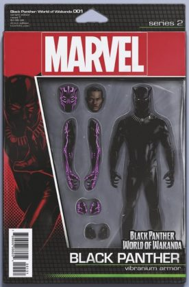 Black Panther World of Wakanda 1 Christopher Action Figure Variant