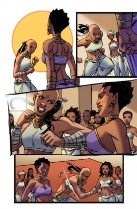 Black Panther World of Wakanda 1 Preview 1