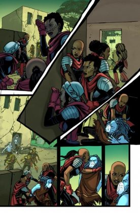 Black Panther World of Wakanda 1 Preview 2