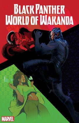 Black Panther World of Wakanda 1 Cover
