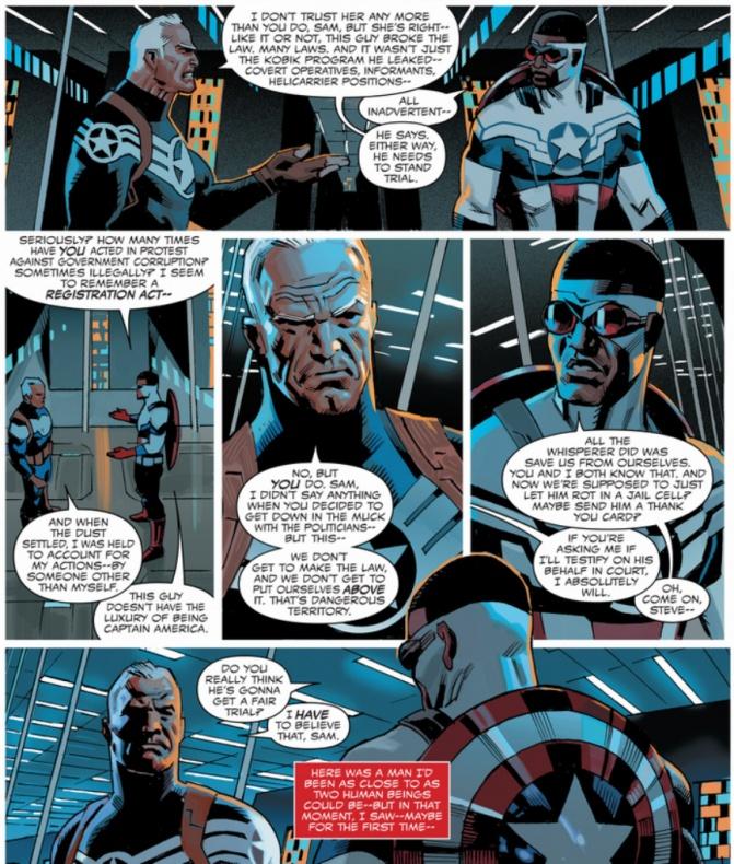 Daniel Acuña - Sam Wilson Captain America 2