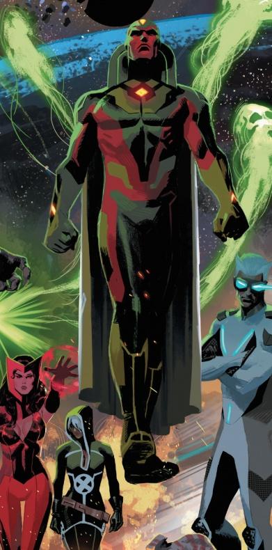 Daniel Acuña - Vision - Uncanny Avengers 2