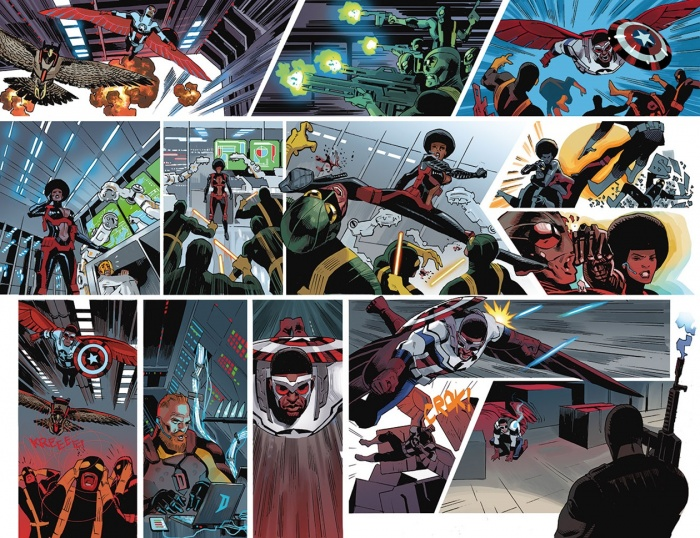 Daniel Acuña - Sam Wilson Captain America 1 - preview