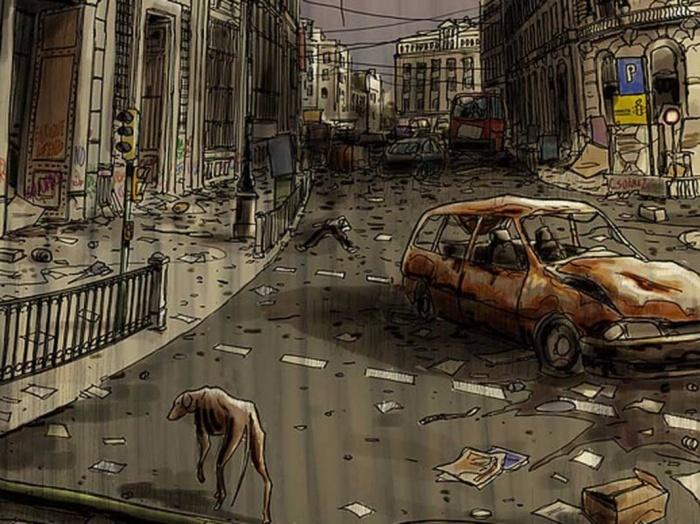 Madrid en el fin de los días