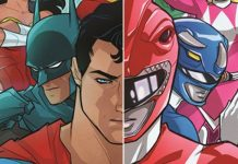 Justice League - Power Rangers destacada