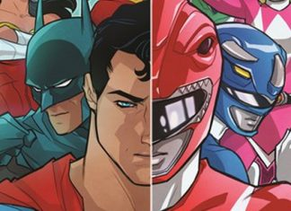 Justice League - Power Rangers destacada