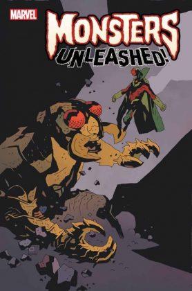 Monsters Unleashed 1 Monster vs Hero Mignola Variant