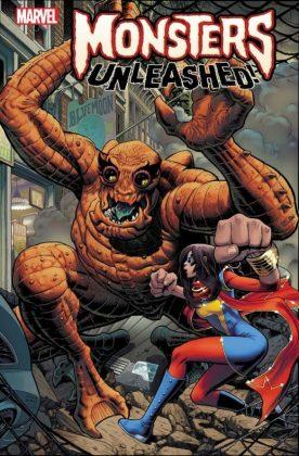 Monsters Unleashed 2 Monster vs Hero Adams Variant