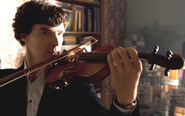 Sherlock - violín