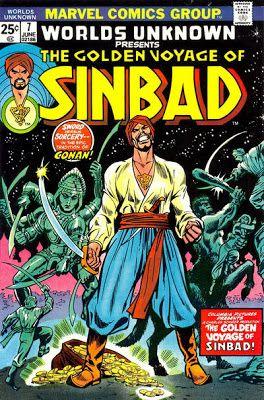 Sinbad - Marvel Comics